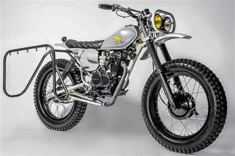 Honda Cycles by Honda Xl100 Scrambler By Revolt Cycles Bikebound