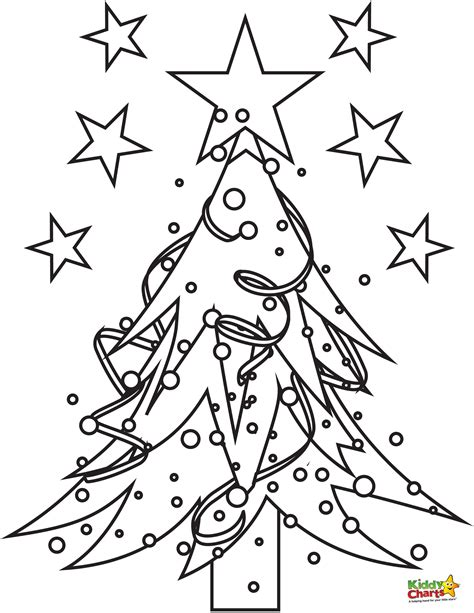 christmas tree pictures to print tree coloring pages coloring pages