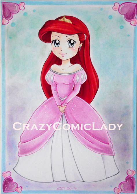 Wipi Dress Dress chibi ariel pink dress by reality bunny on deviantart