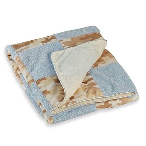 luxury baby blanket cocalo baby luxury baby blanket blue camo buybuy baby