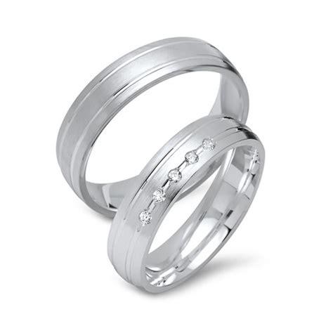 Eheringe Silber Mit Diamant by Eheringe Silber Trauringe 925 Gravur Diamant