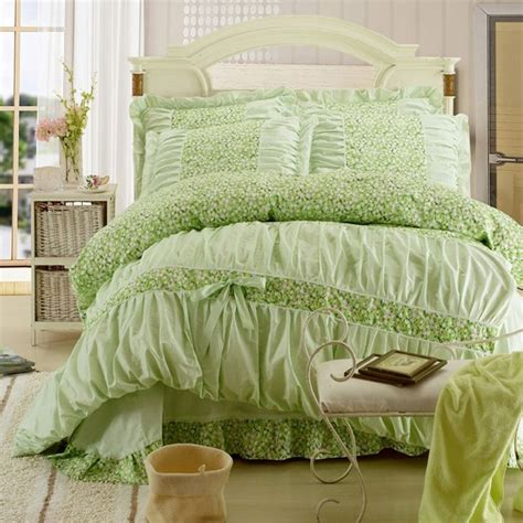 4 green ruffle comforter set in size new 939 best images about enjoybedding s shopping style on cotton toile