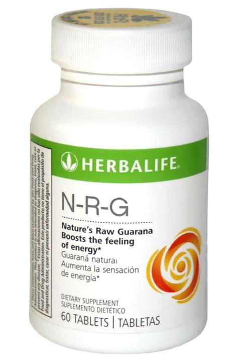 Teh Herbalife Nrg guarana tablets nrg 60 tablets import usa herbalife