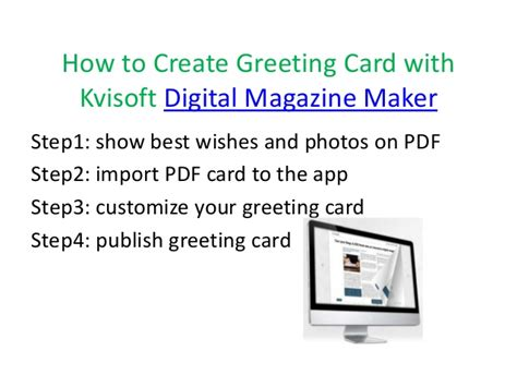 make an e card tutorial about how to design handmade new year greeting card