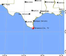 where is brownsville on the map brownsville map