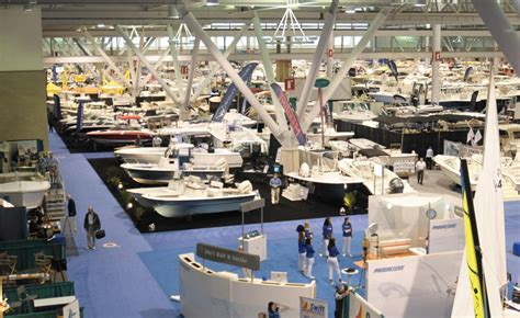 boston boat show convention center the new england boat show boating history in the making