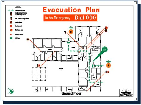 fire evacuation floor plan best photos of fire evacuation plan exle emergency