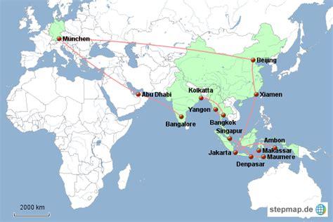 Brief Schweiz Nach Australien Flugrouten So Asien Indien Elgrillo Landkarte F 252 R