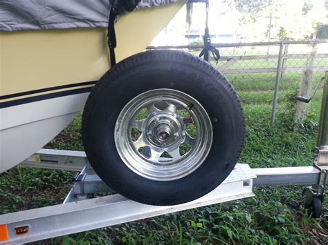 tracker boat trailer tires is my spare tire mount ok the hull truth boating and