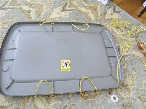 diy snow sled snow sled for 8 check out the for