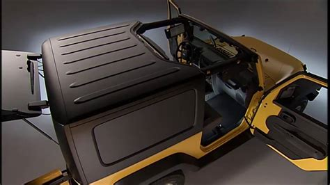 jeep hardtop removal freedom top removal how to remove the jeep hardtop on