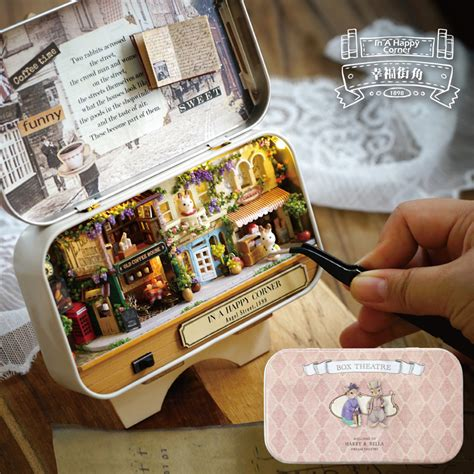 miniaturas y dollhouse doll house diy miniature 3d wooden puzzle dollhouse