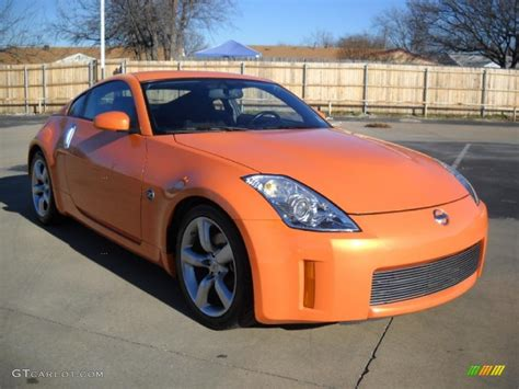 nissan orange image gallery orange nissan 350z