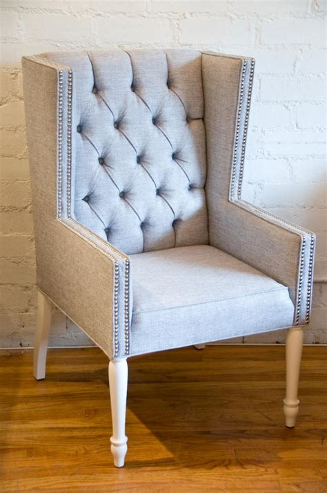 Dining Room Wing Chairs Www Roomservicestore Tufted Mod Wing Dining Chair