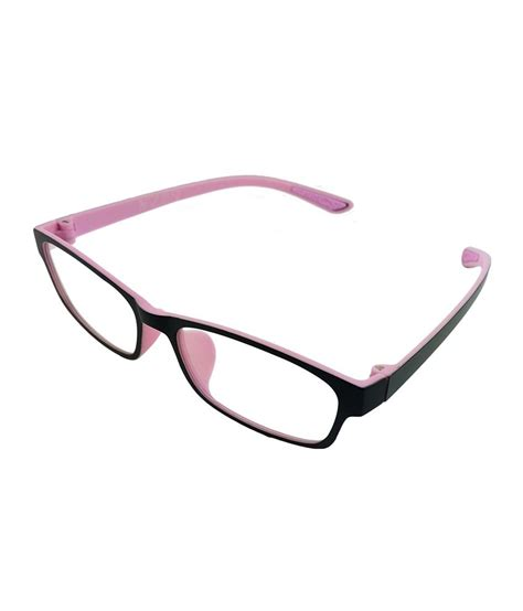 myew eyewear black non metal rectangle shape eyeglasses