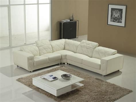white sectional sofa v 23 leather sectionals