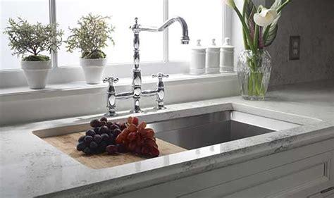Bianco Carrara Countertop by A American Flooring Quartz Zodiaq Countertops