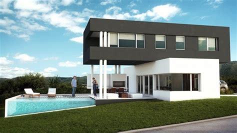 web casa casa moderna gris y blanca casa web