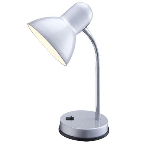 detecteur de fumee 2487 un luminaire de table moderne en m 233 tal argent pour le