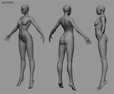zbrush tutorial human body cgtalk buttocks topology female and pelvis area 3d