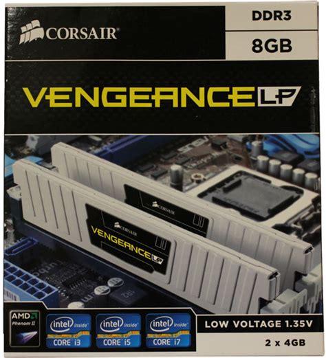 Ram Corsair Ddr3 Vengeance 2x2 Gb Lp corsair vengeance 8gb ddr3 low voltage 1600mhz review