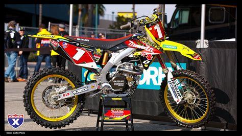 Dungey Suzuki Anaheim Sx Wallpaper Supercross Racer X
