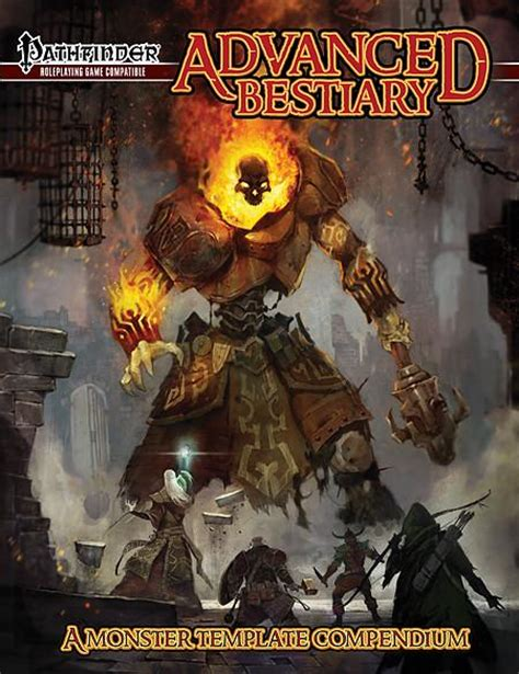 pathfinder roleplaying advanced player s guide advanced bestiary for the pathfinder roleplaying