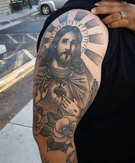 jesus tattoo sleeve designs 28 jesus designs ideas design trends premium
