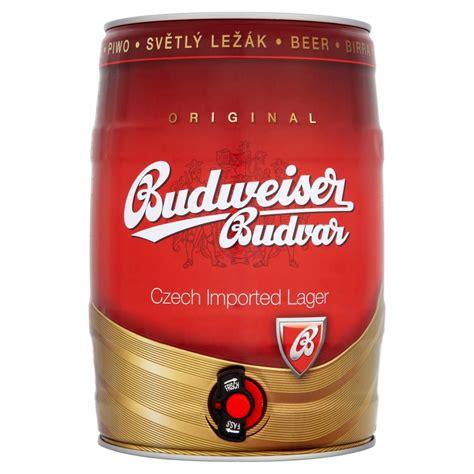 Budweiser L by Budweiser Budvar Original Imported Lager 5l