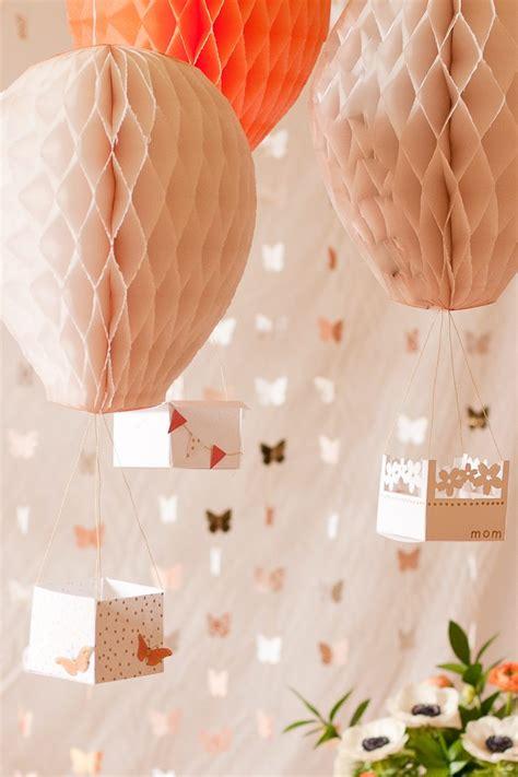 Air Balloon Diy Decorations by Diy Air Balloon Decor Flax Twine