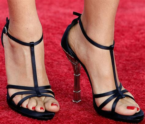 salma hayek celebrity foot and shoes