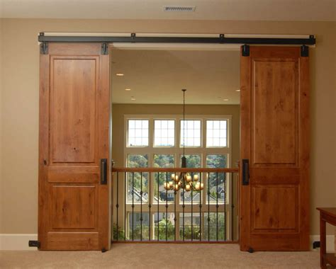 Double Door Style Interior Barn Doors Monarch Custom Doors Barn Door Style Interior Doors