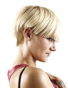 toni and guy short haircuts a short blonde hairstyle from the toni guy collection no