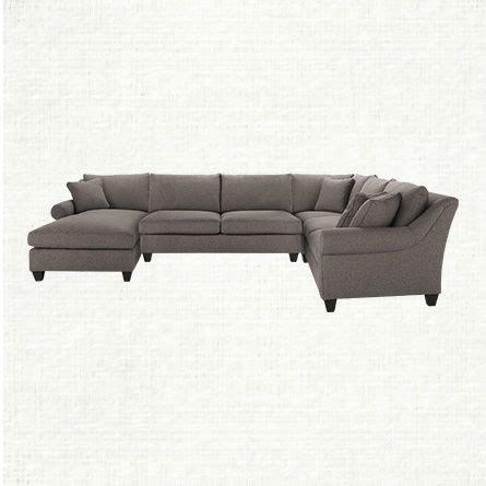 arhaus rockway 4 sectional condo furniture