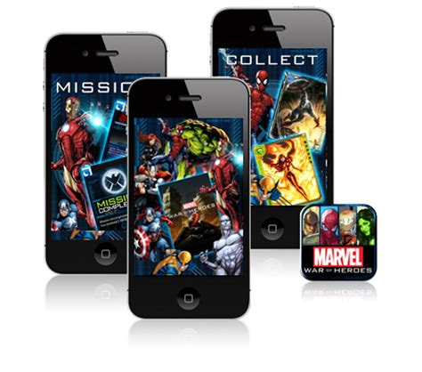 Mobil Marvel Heroes Isi 3 marvel apps marvel apps marvel