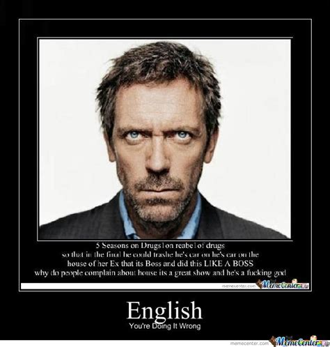 New House Meme - pics for gt dr house face meme