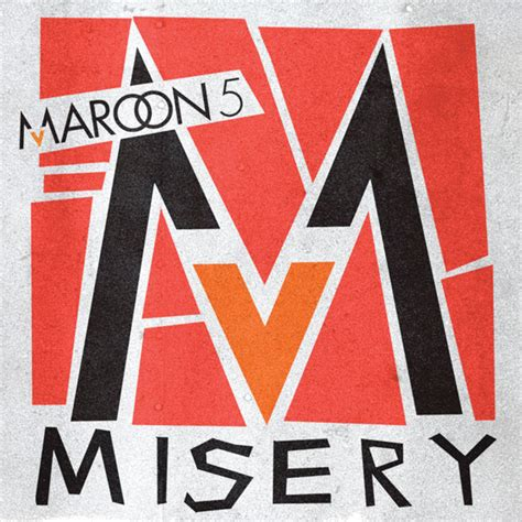 maroon v album cover rage maroon 5 misery official promo single cover