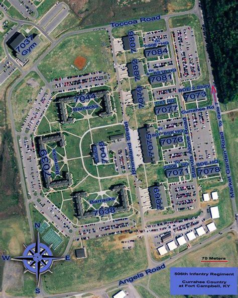fort cbell ky map 506th infantry website fort cbell information