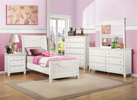 Putri Set White homelegance alyssa youth bedroom set white b2136tw bed