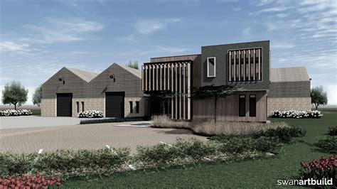 nieuwbouw bedrijfspand warmenhuizen swan artbuild