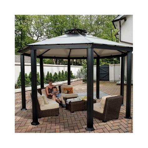 hardtop patio gazebo hardtop canopy gazebo pergola aluminum outdoor patio metal