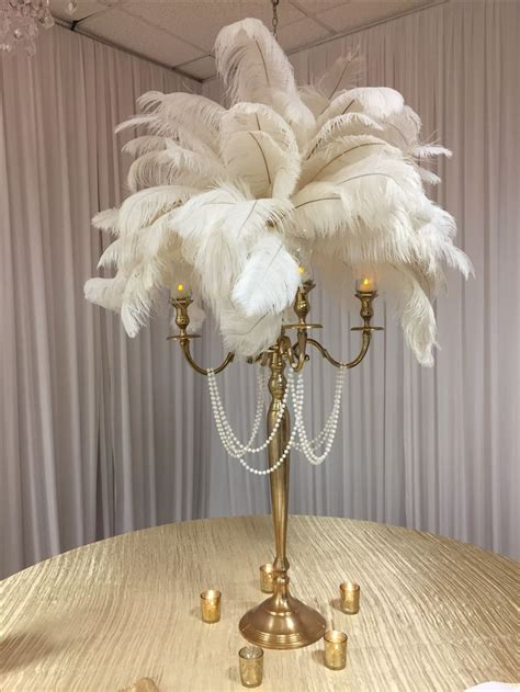 how to make ostrich feather centerpieces best 25 feather centerpieces ideas on ostrich
