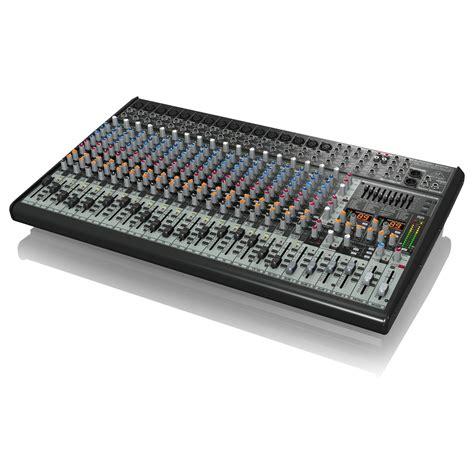 Mixer Behringer Sx2442fx Mixer Audio 24 Channel With Effect Sx 2442 behringer eurodesk sx2442fx 24 channel analog mixer b stock at gear4music