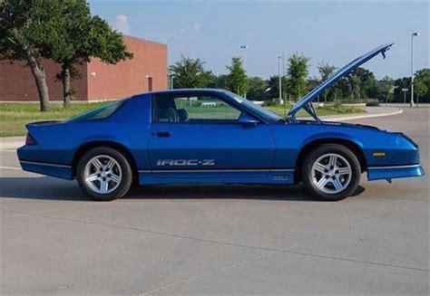 1992 camaro iroc z 1990 camaro iroc z 1le for sale car list