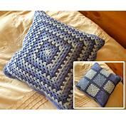 Almohadones A Crochet Patrones  Imagui
