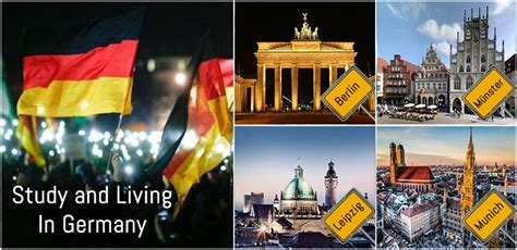 List Of German Universities For Mba by 4 Ultimate Cities For Study And Living In Germany Degree