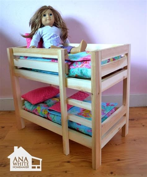 american girl doll triple bunk bed plans woodworking