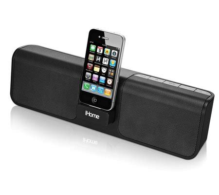 ihome ip46 rechargeable portable stereo system for iphone