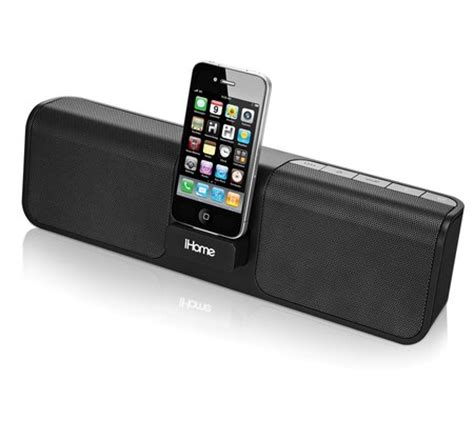 i home ihome ip46 rechargeable portable stereo system for iphone