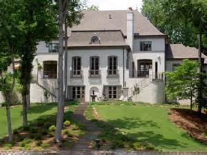 French Country Home Accents - french eclectic manor house traditional exterior birmingham by hennecy architecture inc
